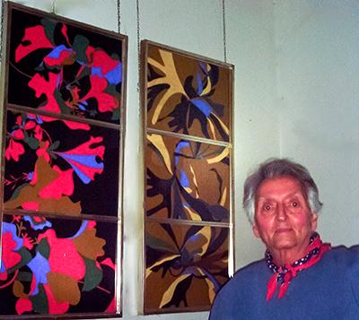 Arnold con pinturas de John