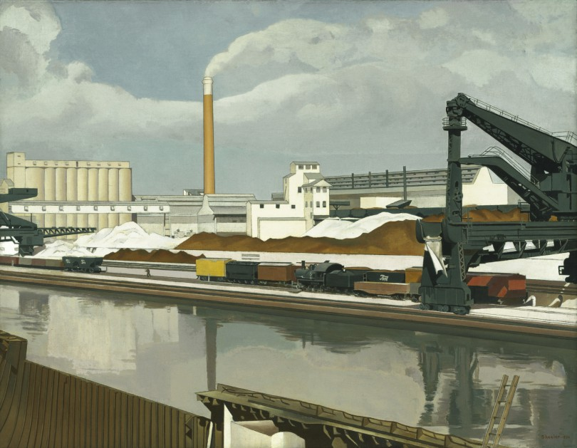 Charles Sheeler, American Landscape,