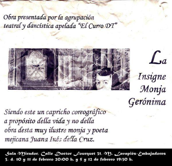 La insigne monja Gerónima